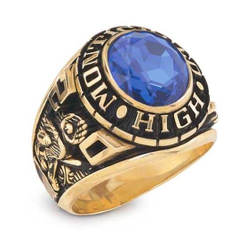 14k gold class ring