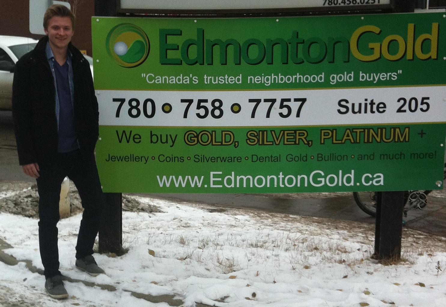 Edmonton Gold manager Chris Gardner
